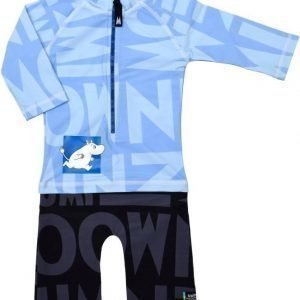 Swimpy UV-puku Muumi Blue/Black