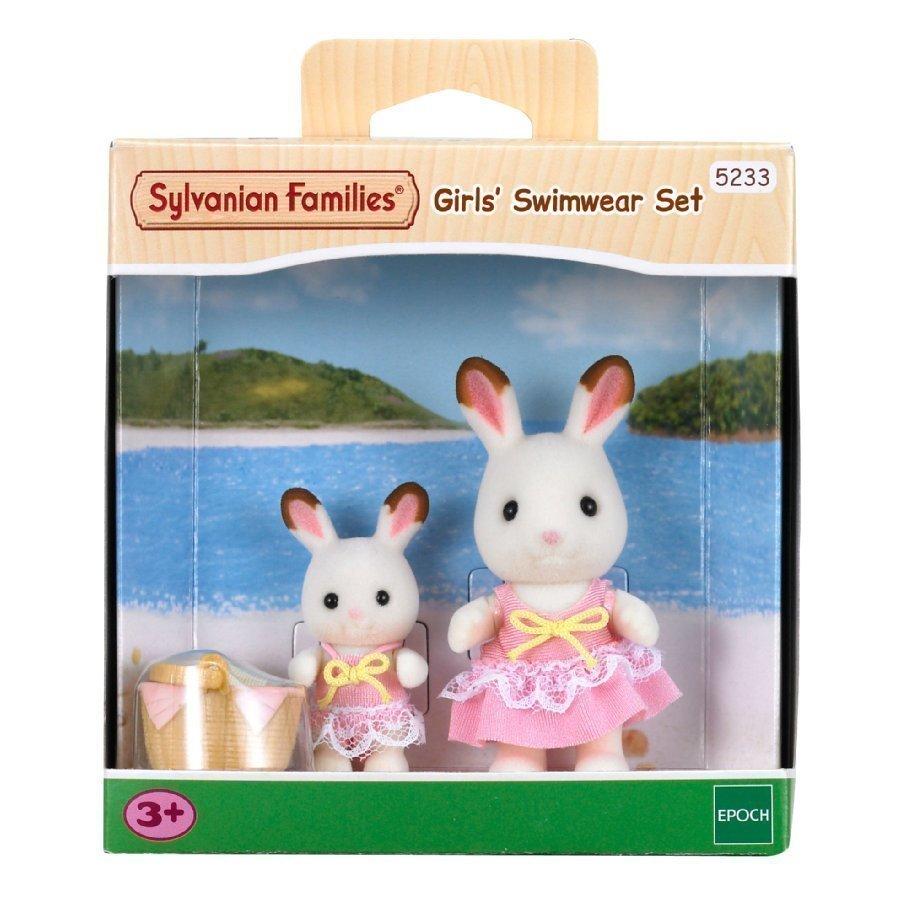 Sylvanian Families Tyttöjen Uimapukusetti
