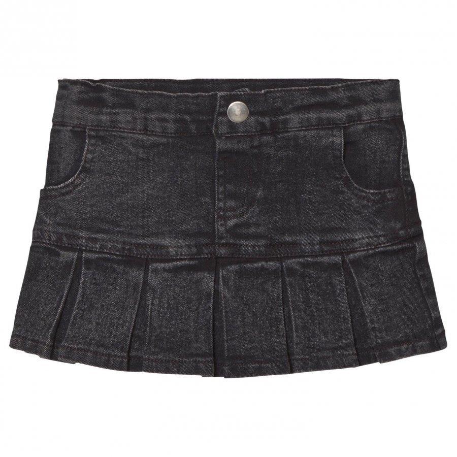 Tao & Friends Denim Skirt Grey/Black Farkkuhame