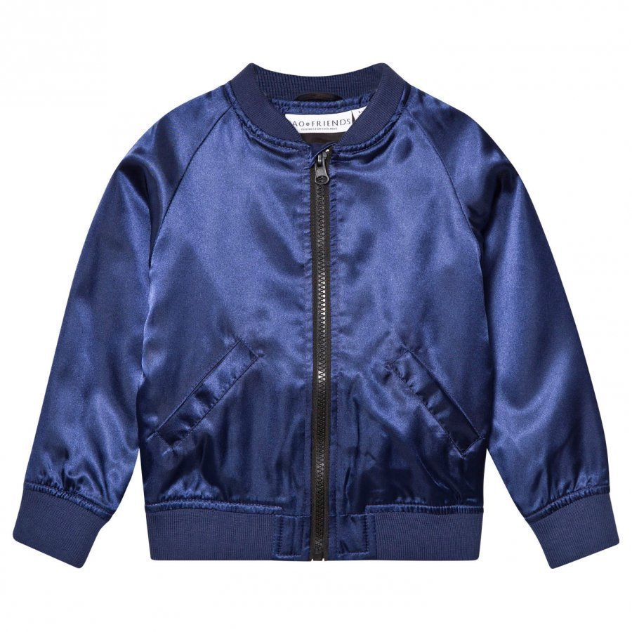 Tao & Friends Flamingon Bomber Jacket Marine Bomber Takki