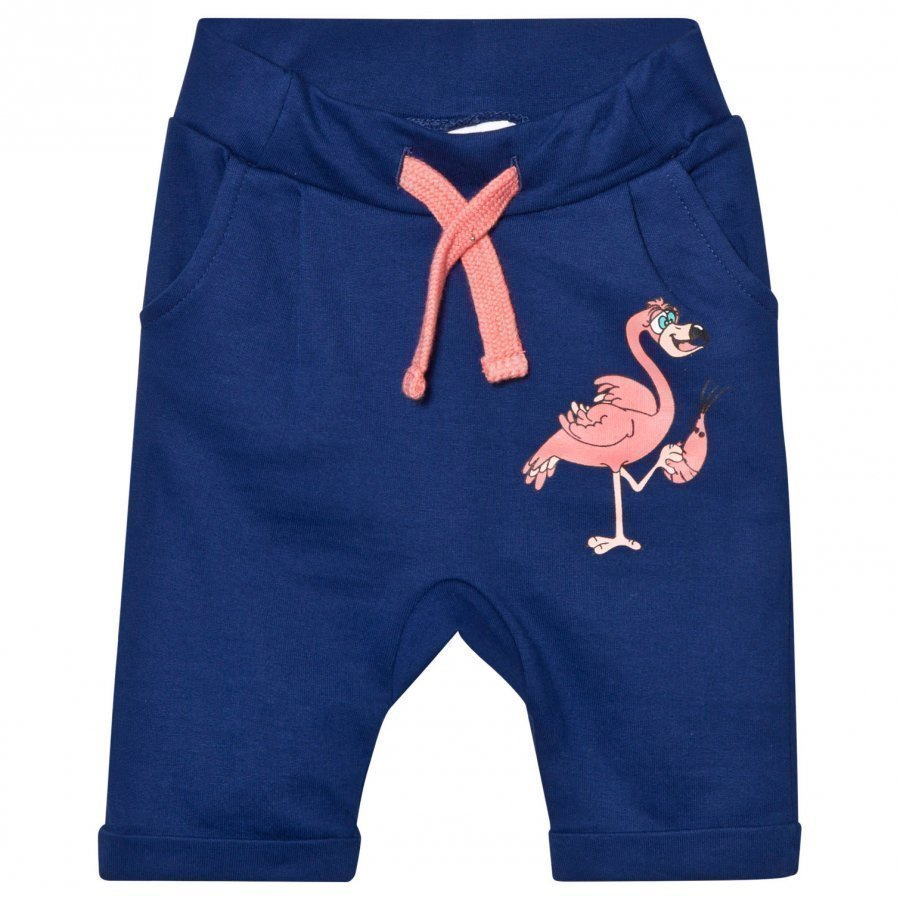 Tao & Friends Flamingon Sweatpants Marine Verryttelyhousut