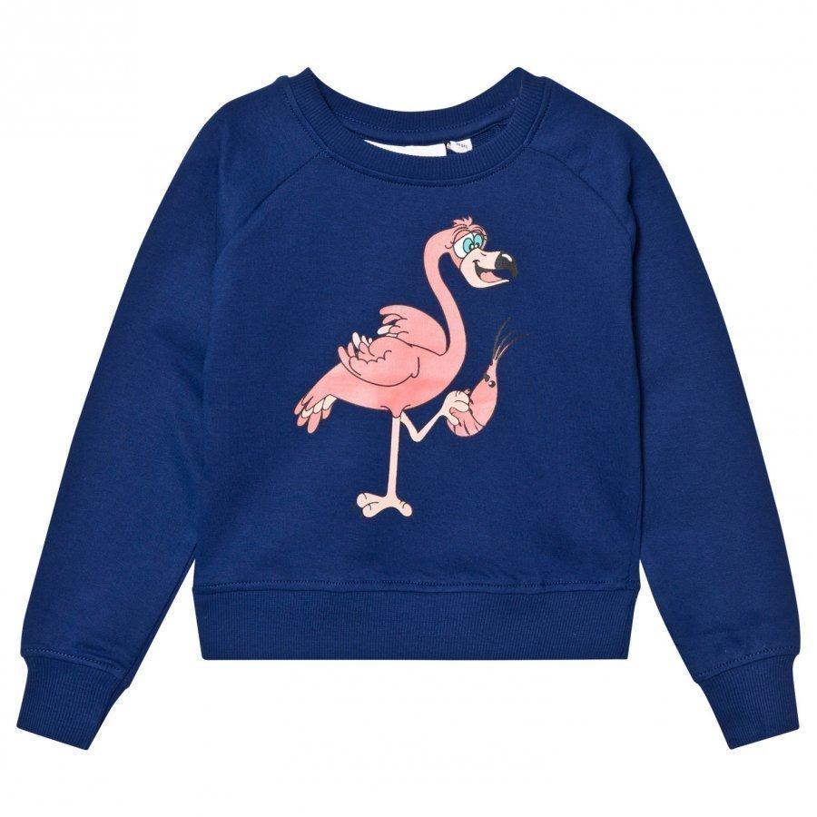 Tao & Friends Flamingon Sweatshirt Marine Oloasun Paita