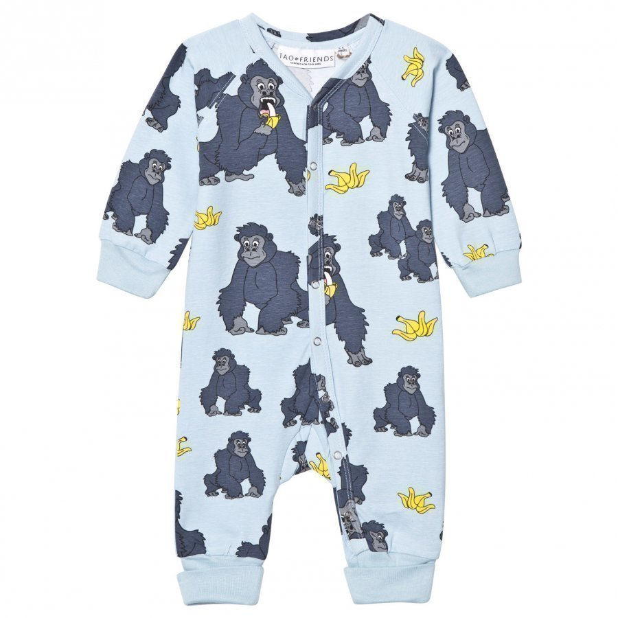 Tao & Friends Gorillan One-Piece Blue Yöpuku