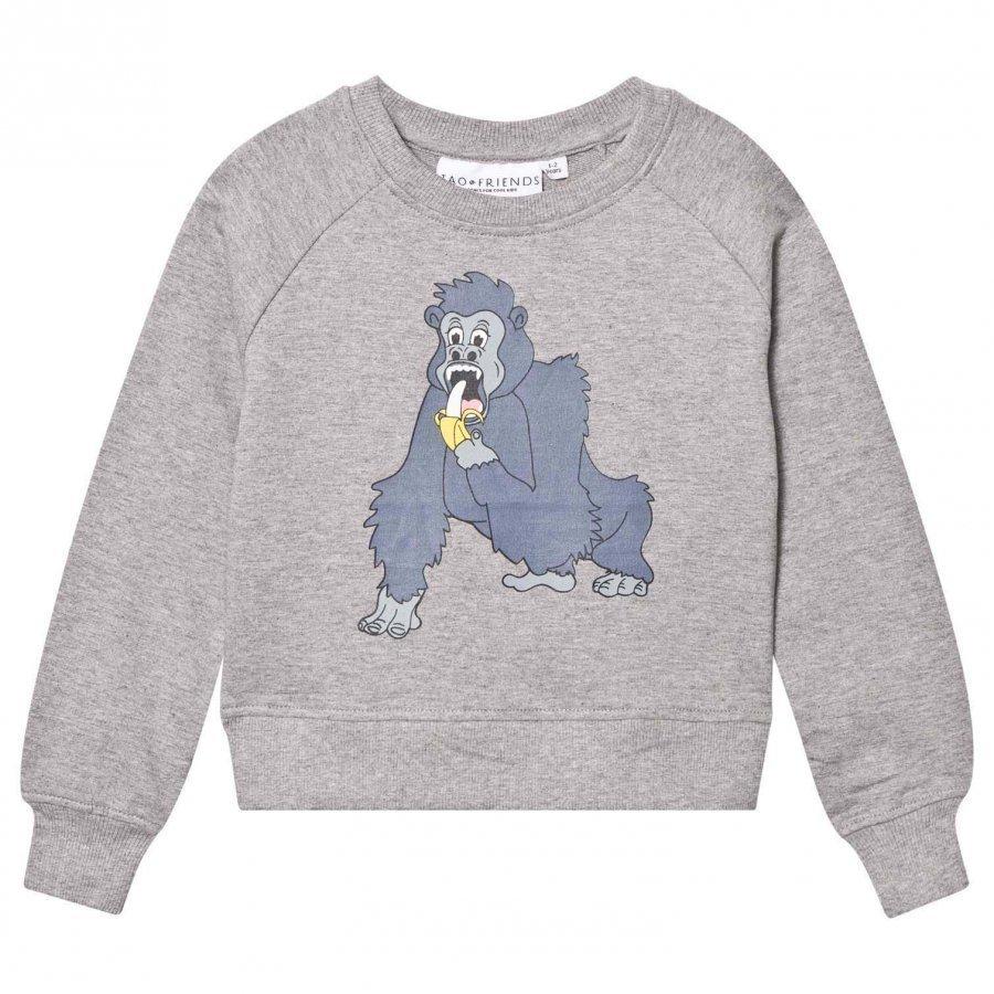 Tao & Friends Gorillan Sweatshirt Grey Oloasun Paita