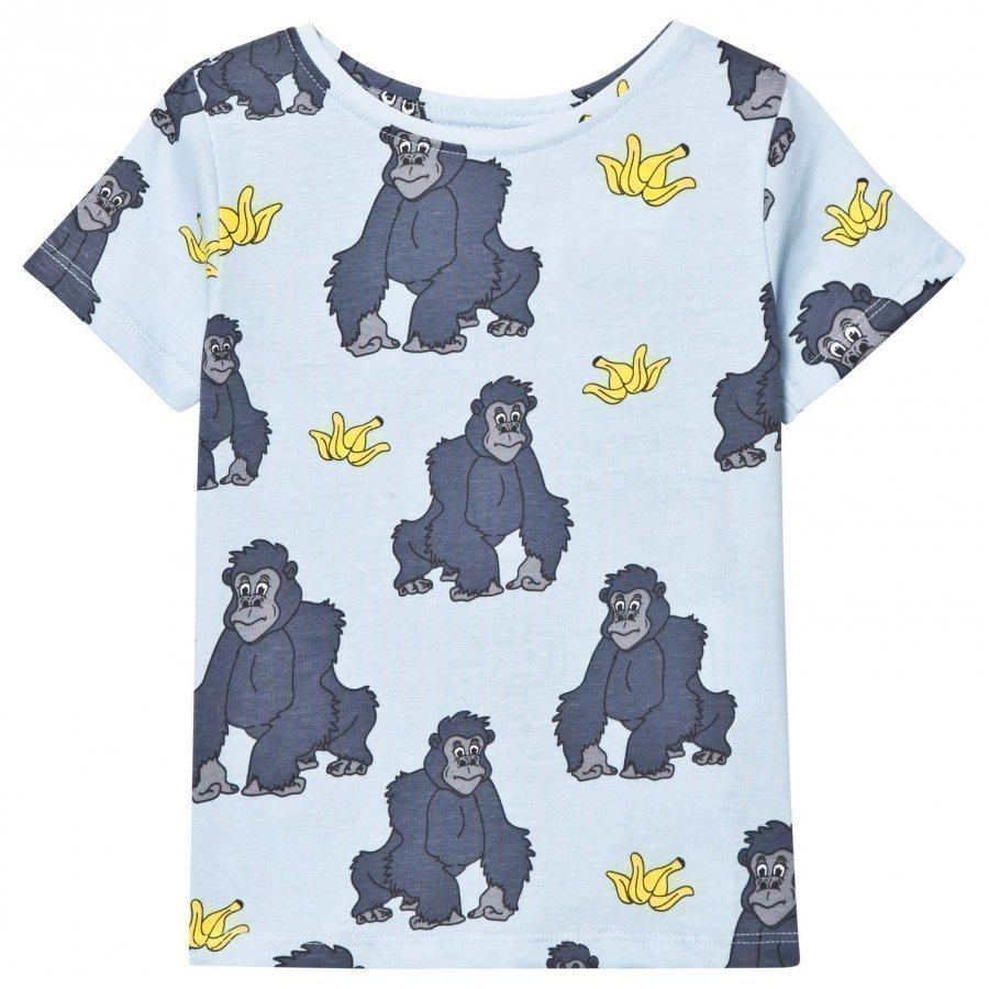 Tao & Friends Gorillan Tee Blue T-Paita