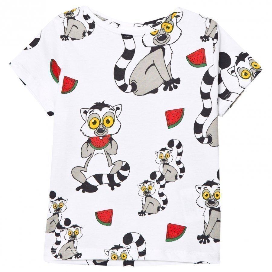 Tao & Friends Lemuren Tee White T-Paita