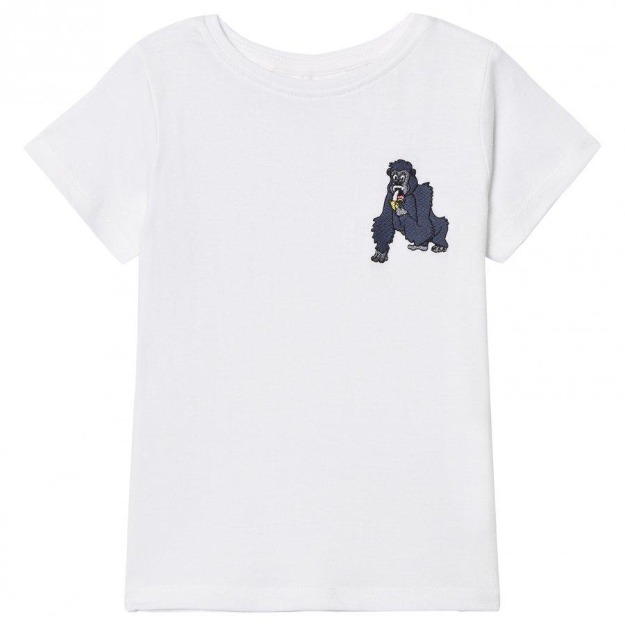Tao & Friends Mini Gorillan Tee White T-Paita