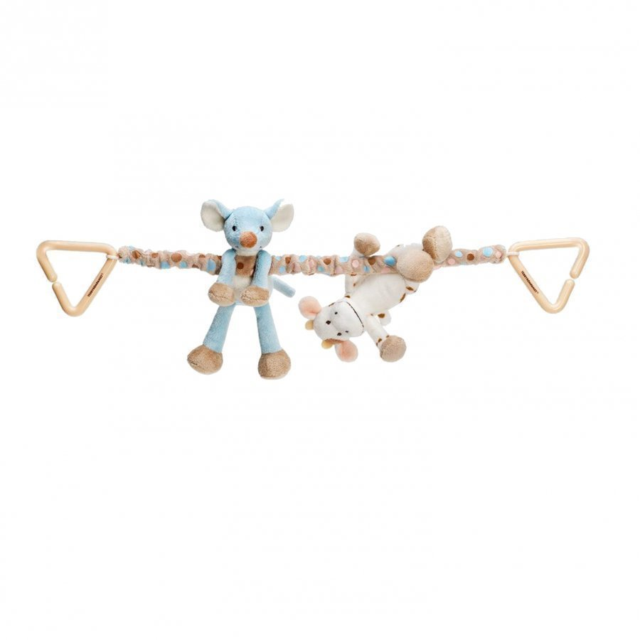 Teddykompaniet Diinglisar Cow And Mouse Stroller Hanger Istuintyyny