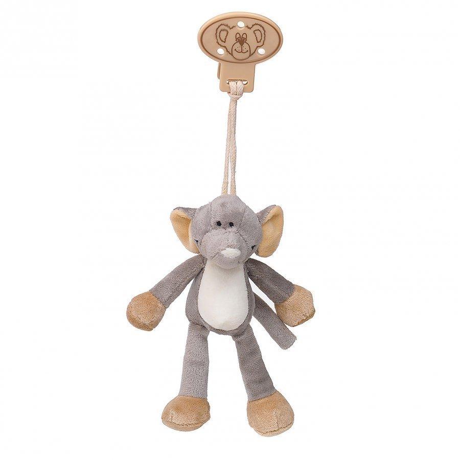 Teddykompaniet Diinglisar Wild Clip Elephant Tutti