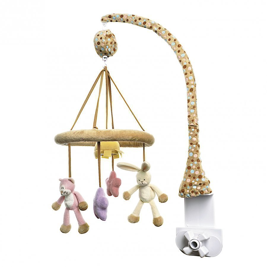 Teddykompaniet Musical Mobile Cat Rabbit Mobile
