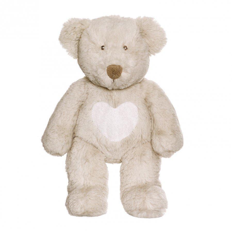 Teddykompaniet Teddy Cream Bear Grey Small Pehmolelu
