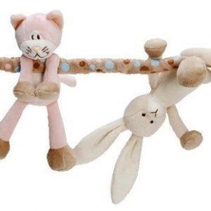 Teddykompaniet Vaunulelu Diinglisar Kissa ja kani