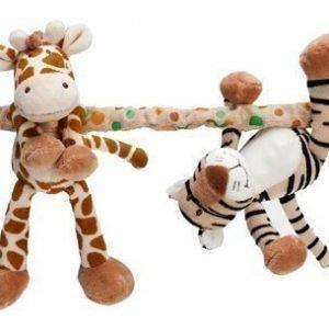Teddykompaniet Vaunulelu Diinglisar Wild Kirahvi ja tiikeri
