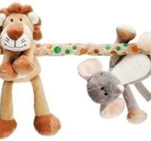 Teddykompaniet Vaunulelu Diinglisar Wild Leijona ja norsu