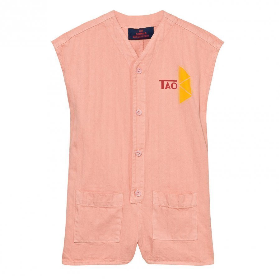 The Animals Observatory Ape Romper Pink Tao Triangles Potkupuku