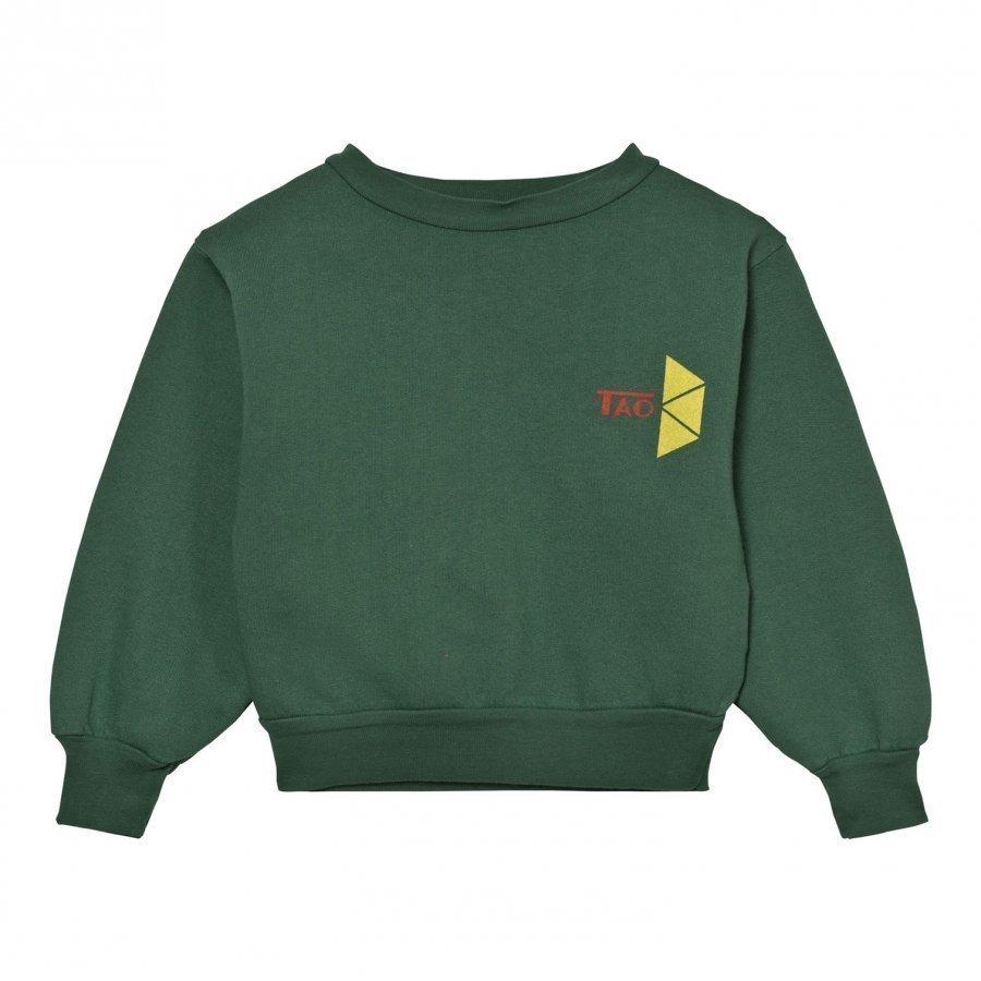 The Animals Observatory Bear Sweatshirt Military Green Tao Triangles Oloasun Paita