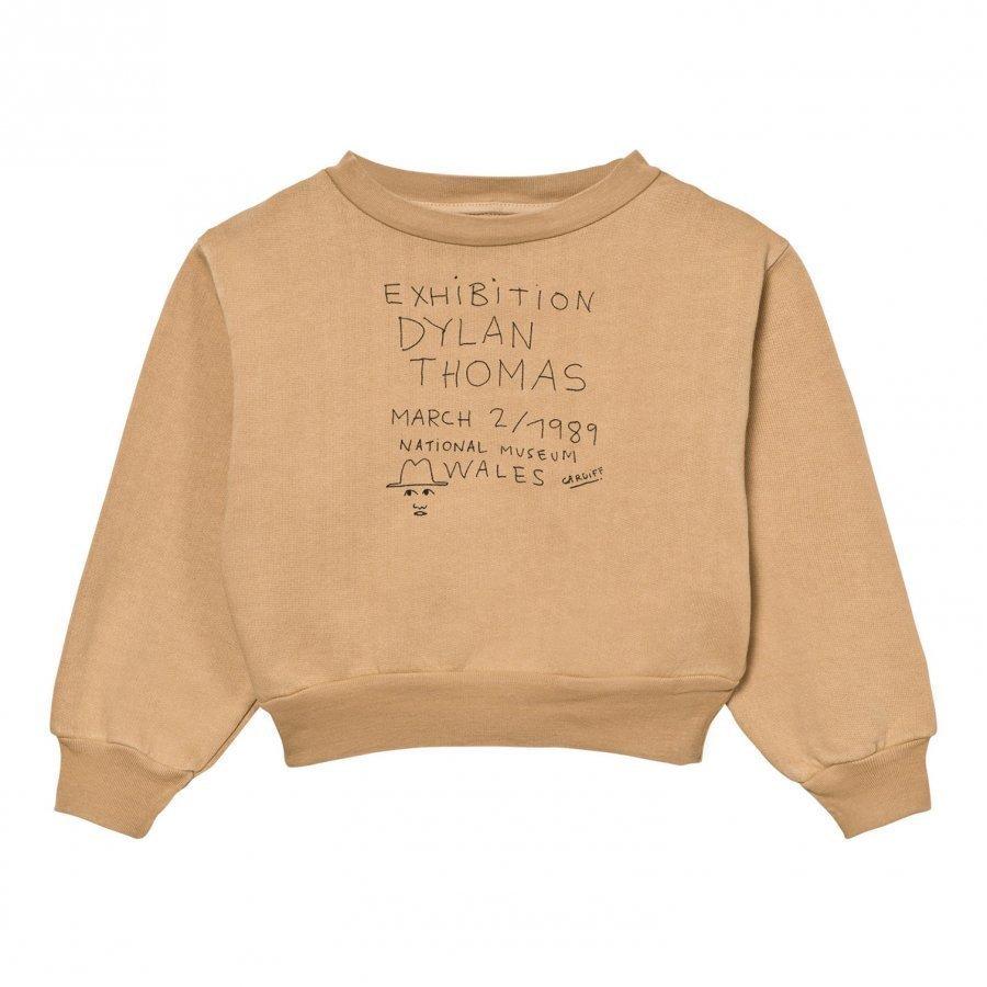 The Animals Observatory Bear Sweatshirt Ochre Exhibition Oloasun Paita