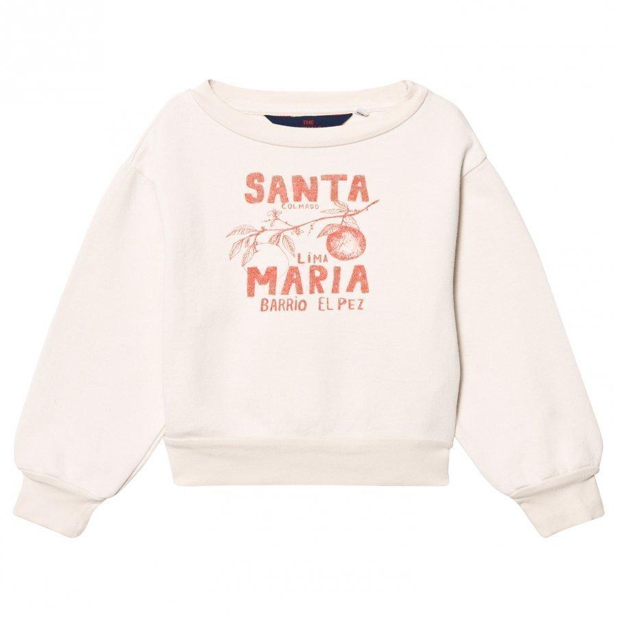 The Animals Observatory Bear Sweatshirt Raw White Santa Maria Oloasun Paita