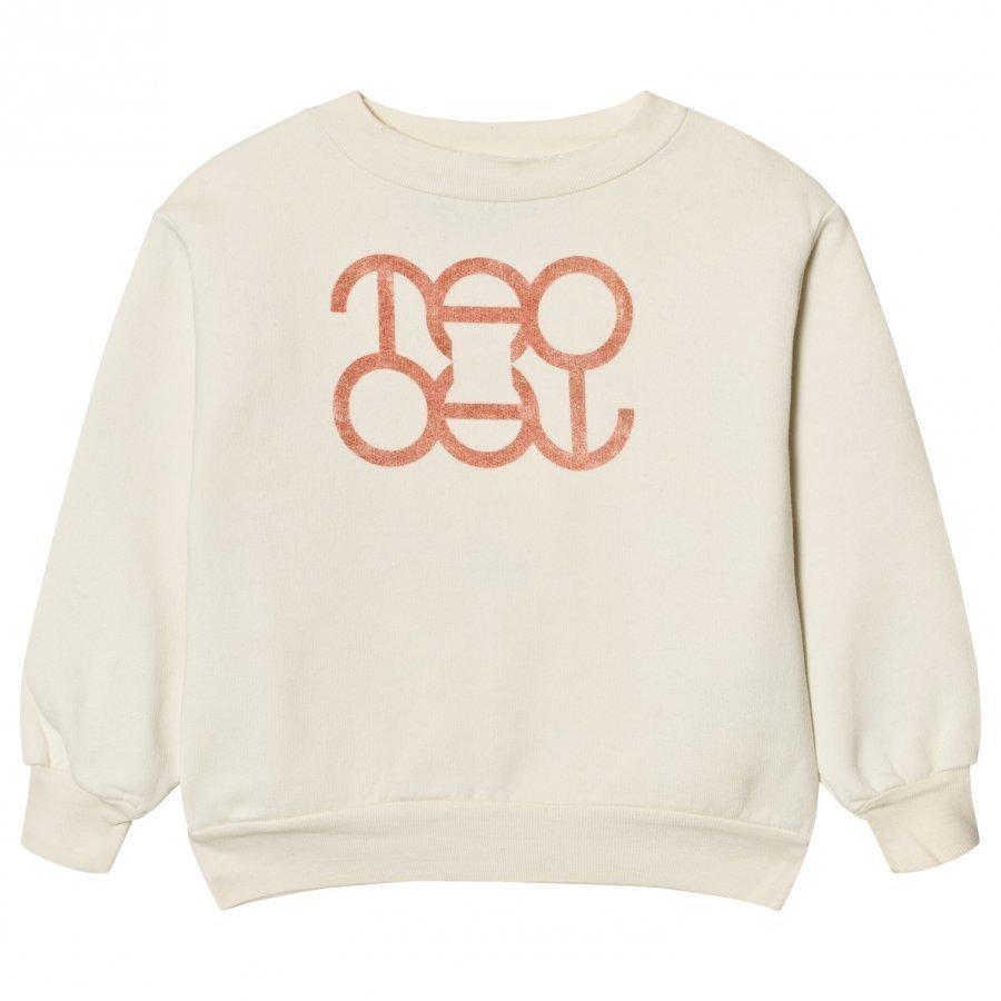 The Animals Observatory Bear Sweatshirt White Tao Logo Oloasun Paita