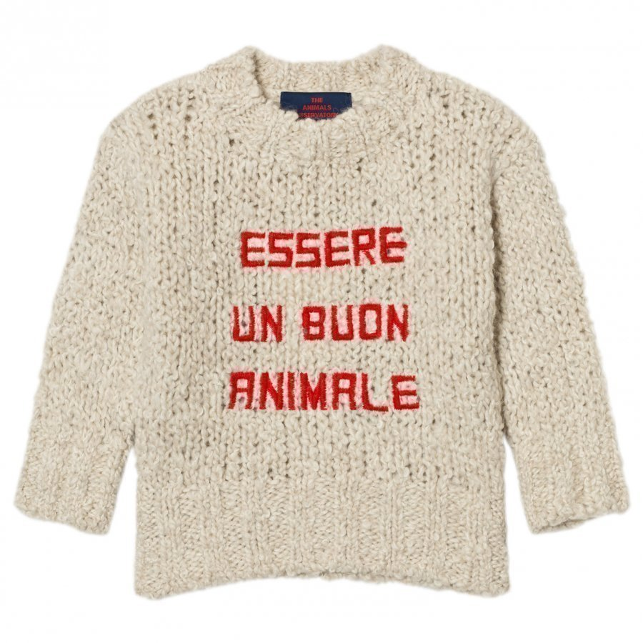 The Animals Observatory Bull Sweater Red Paita