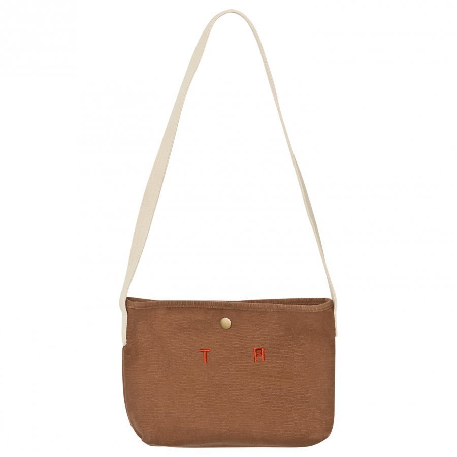 The Animals Observatory Canvas Bag Deep Brown Tao Initials Kassi