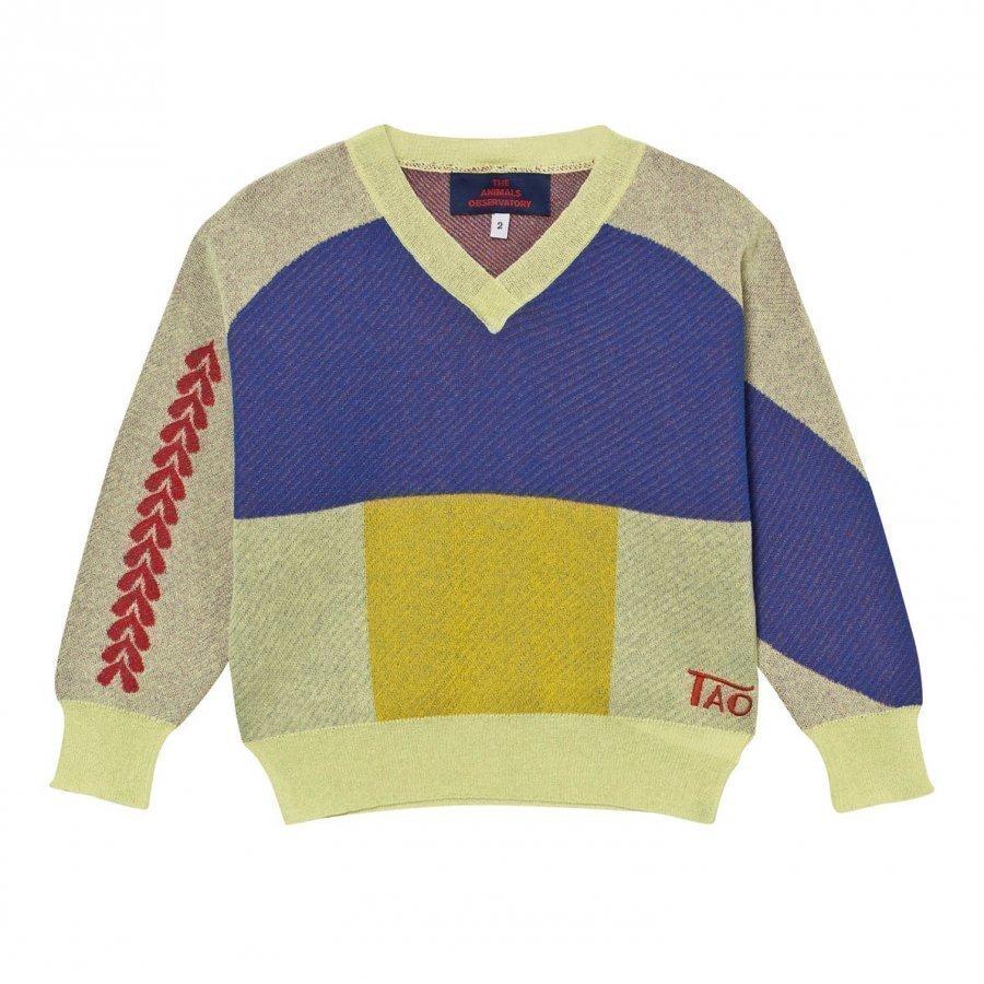 The Animals Observatory Cougar Sweater Raw Yellow Paita