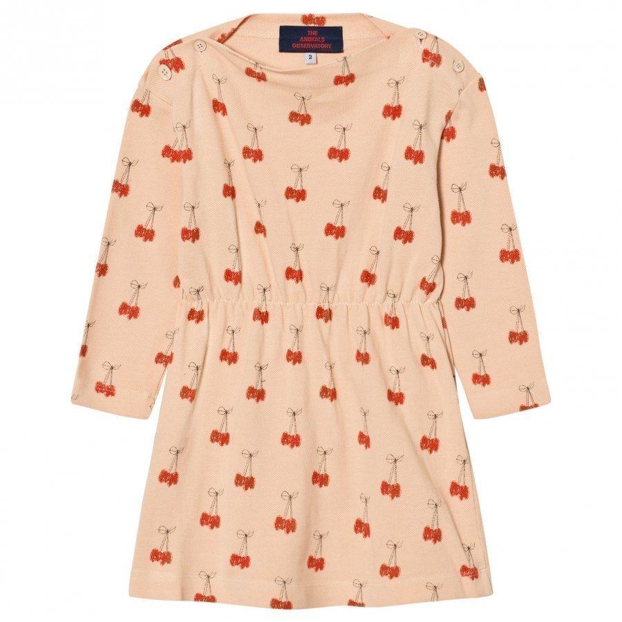 The Animals Observatory Crab Dress Cream Cherries Mekko