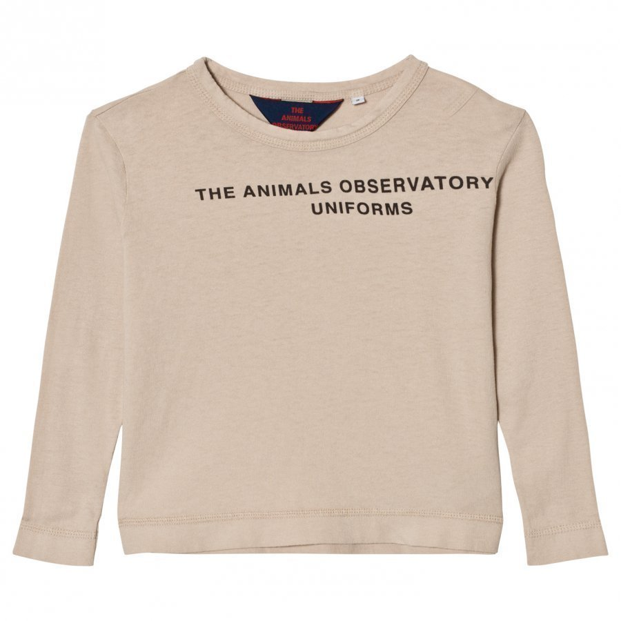 The Animals Observatory Dog T-Shirt Sand Tao Uniforms Pitkähihainen T-Paita