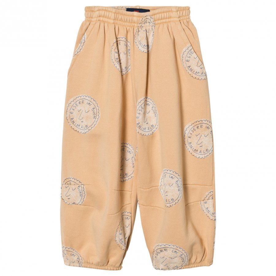 The Animals Observatory Dromedary Pants Cream Stamps Housut