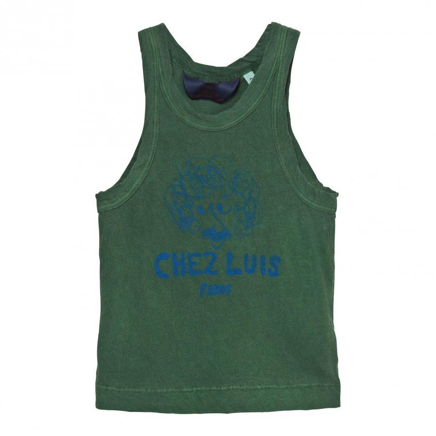 The Animals Observatory Frog Tank Top Military Green Chez Luis Liivi