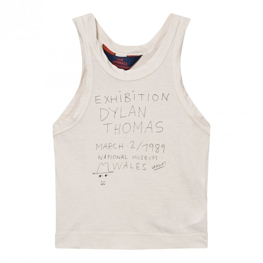 The Animals Observatory Frog Tank Top Raw White Exhibition Liivi