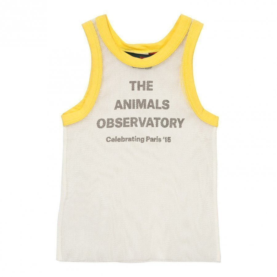 The Animals Observatory Frog Tank Top Raw White Liivi