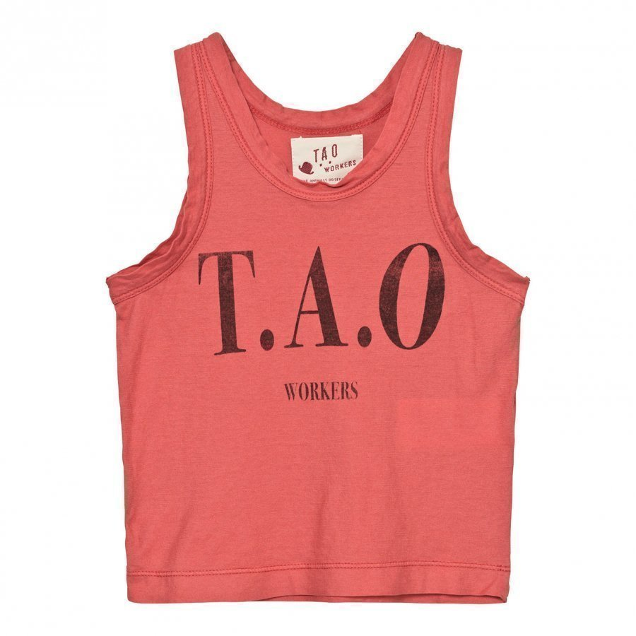 The Animals Observatory Frog Tank Top Red Tao Workers Liivi