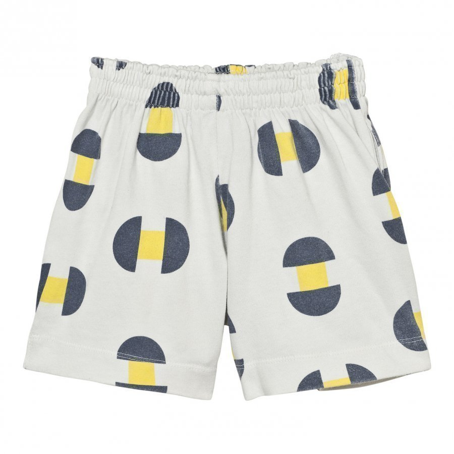The Animals Observatory Gardener Bermudas Raw White Geometric Oloasun Shortsit