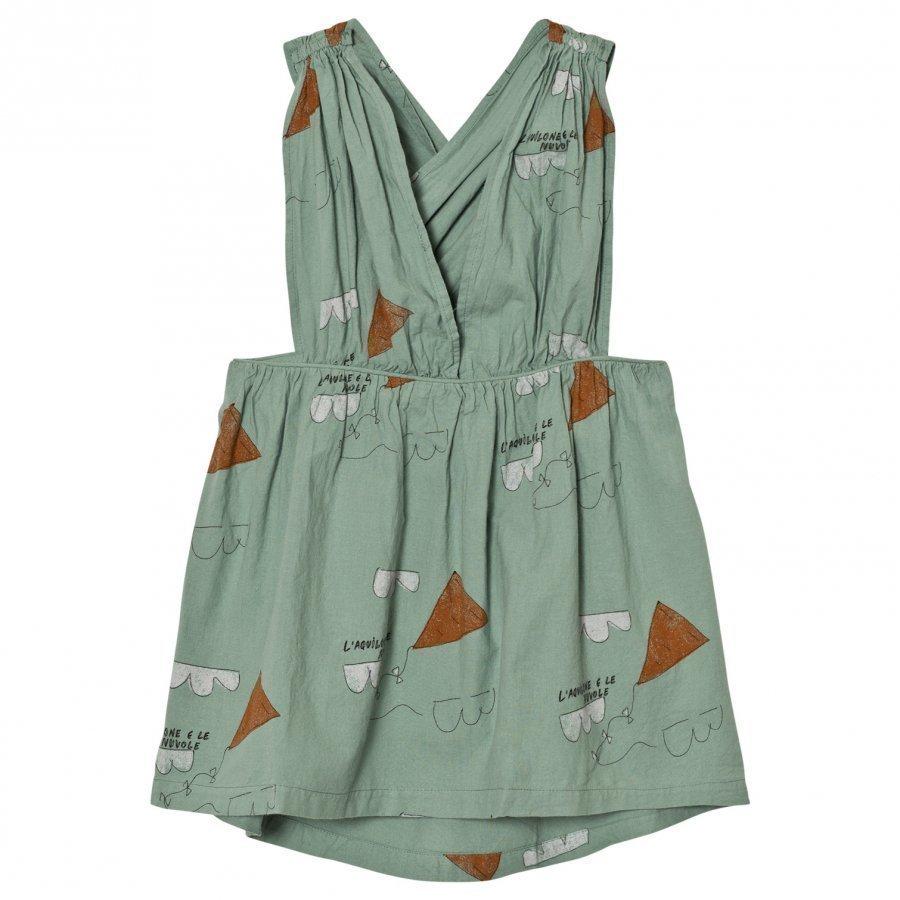 The Animals Observatory Goose Dress Turquoise Kites Mekko