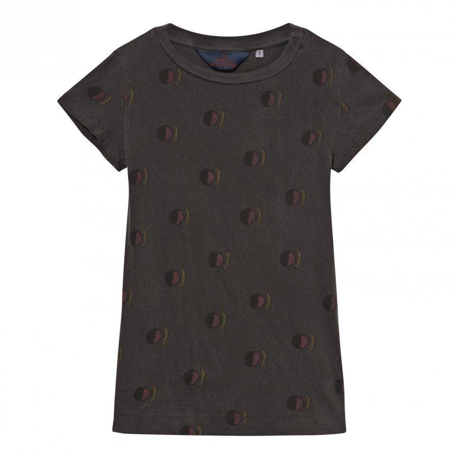 The Animals Observatory Gorilla Dress Black Fruit Mekko