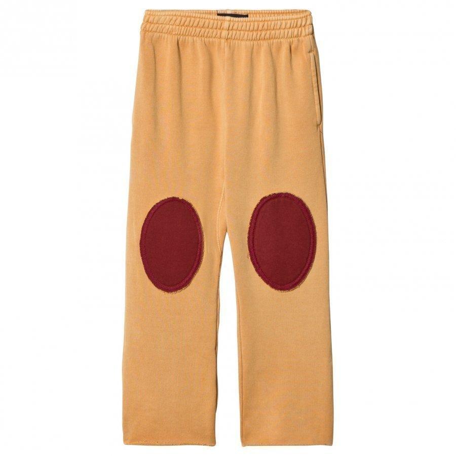 The Animals Observatory Horse Pants Yellow Plain Housut