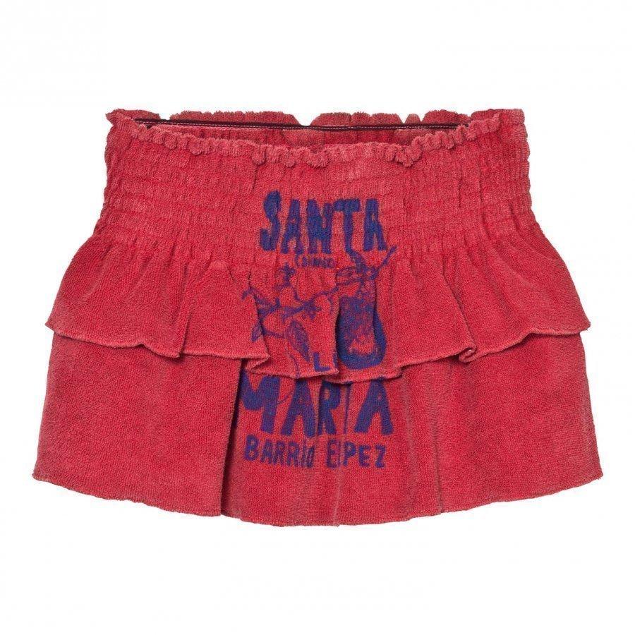 The Animals Observatory Kiwi Skirt Maroon Santa Maria Lyhyt Hame