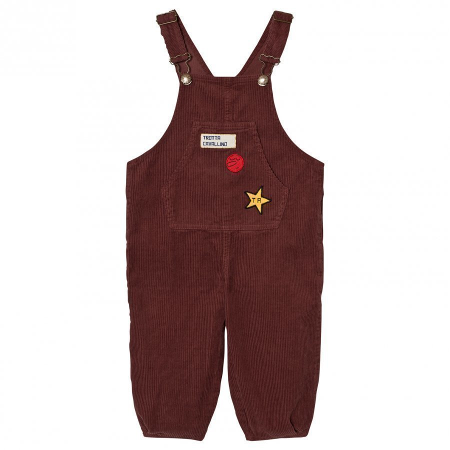The Animals Observatory Mechanic Overalls Red Garnet Lappuhaalari