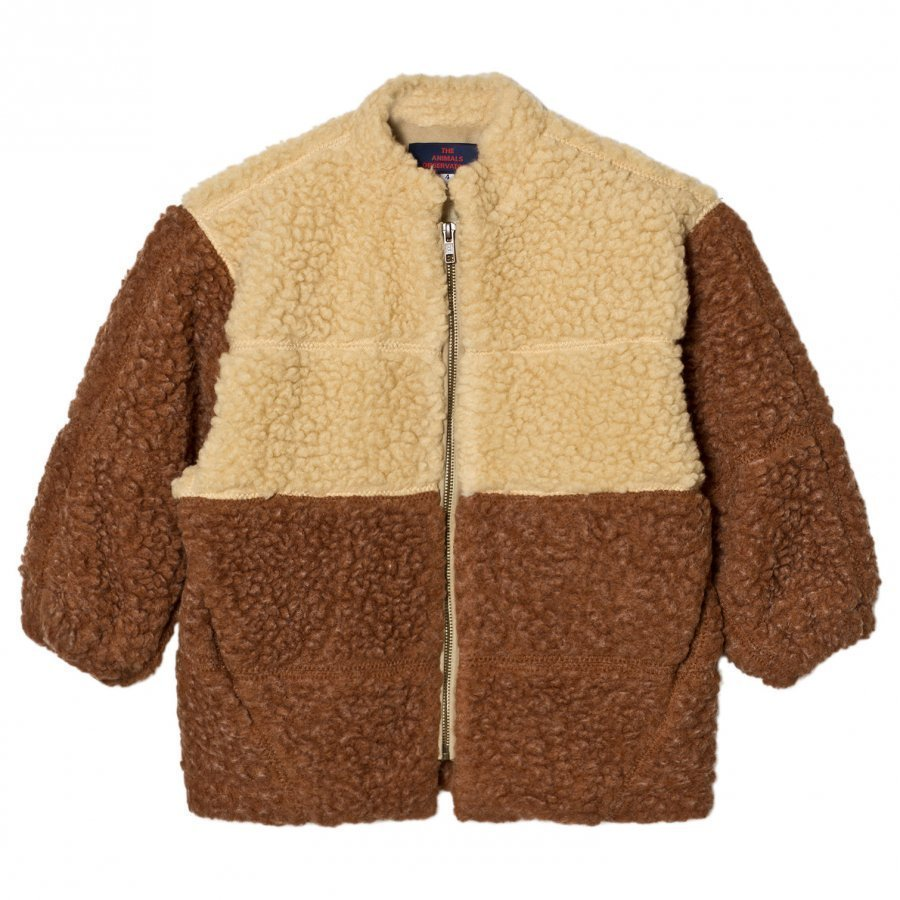 The Animals Observatory Panda Jacket Deep Brown Turkis