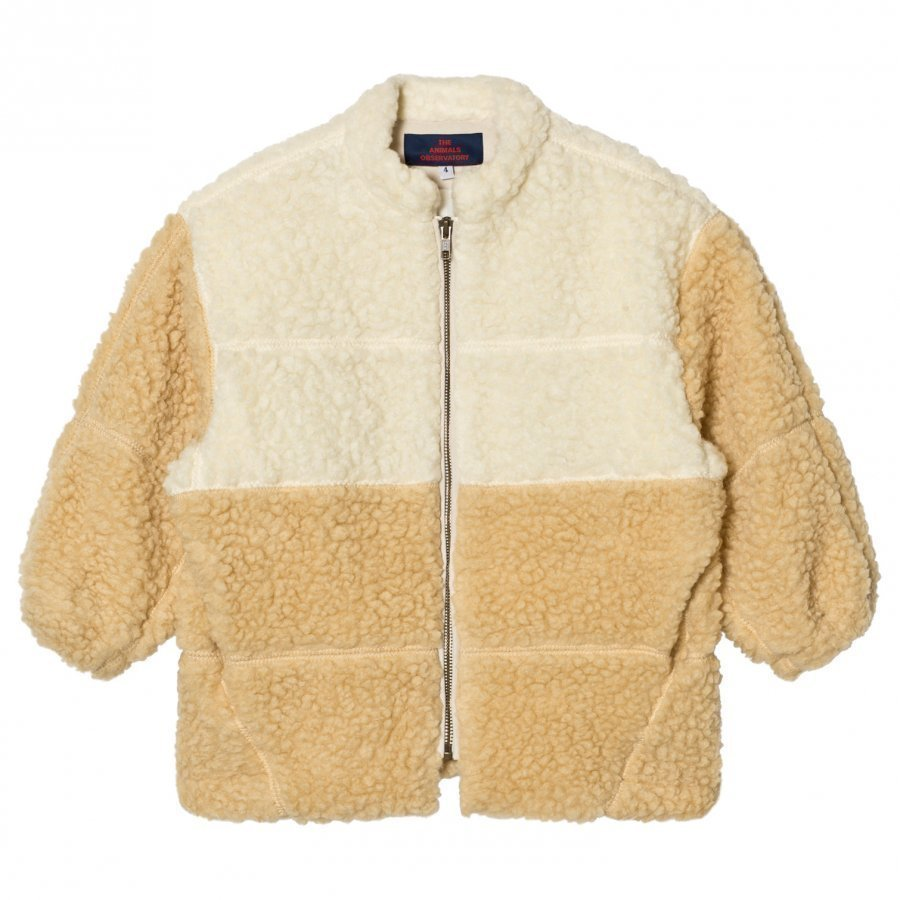 The Animals Observatory Panda Jacket Raw White Turkis