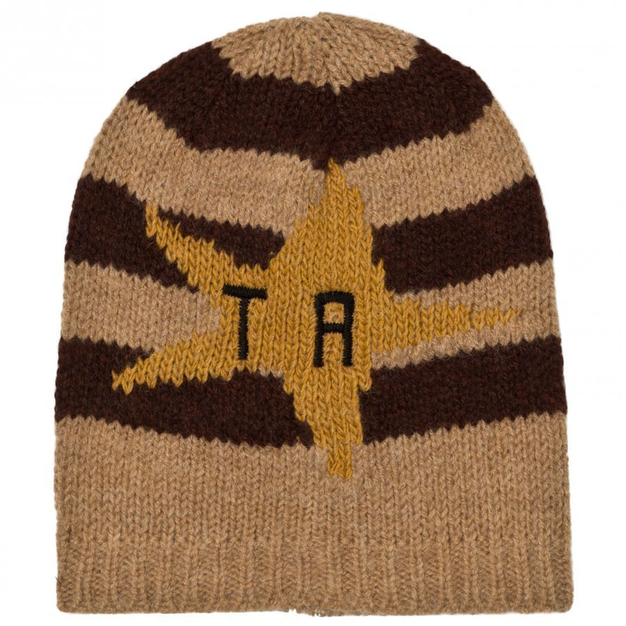 The Animals Observatory Pony Knit Beanie Deep Brown Pipo