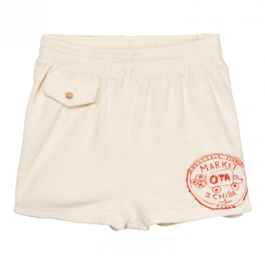 The Animals Observatory Poodle Bermuda Shorts Raw White Market Oloasun Shortsit