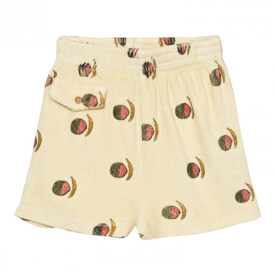 The Animals Observatory Poodle Bermuda Shorts Soft Yellow Fruit Oloasun Shortsit