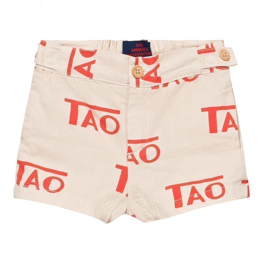 The Animals Observatory Puppy Shorts Raw White Tao Juhlashortsit
