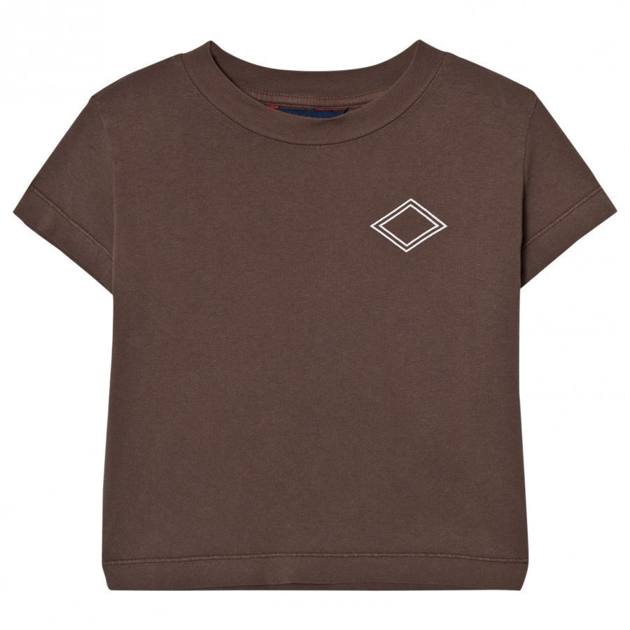 The Animals Observatory Rooster T-Shirt Brown Diamonds T-Paita
