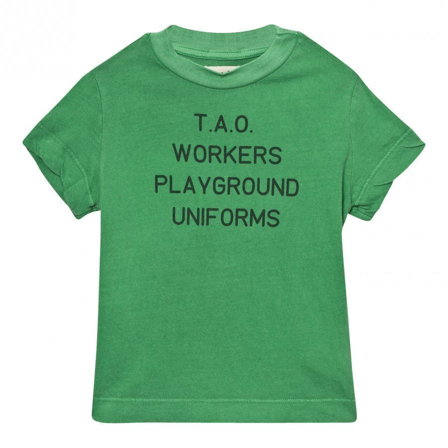The Animals Observatory Rooster T-Shirt Green Uniforms T-Paita