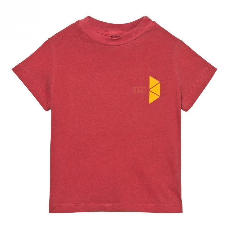 The Animals Observatory Rooster T-Shirt Maroon Tao Triangles T-Paita
