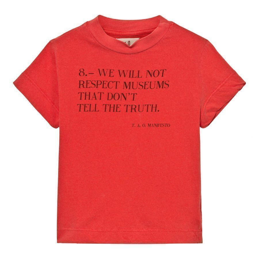The Animals Observatory Rooster T-Shirt Red Manifesto T-Paita