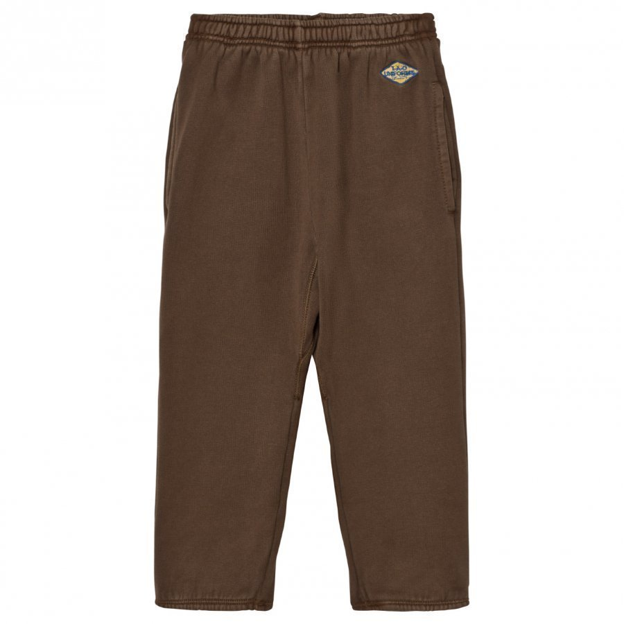 The Animals Observatory Sculptor Pants Brown Uniforms Logo Housut